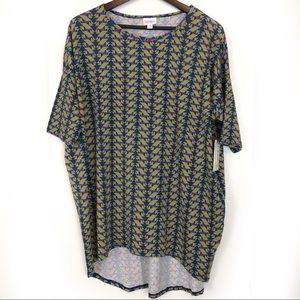 Lularoe Irma NWT Geometric Pattern Shirt